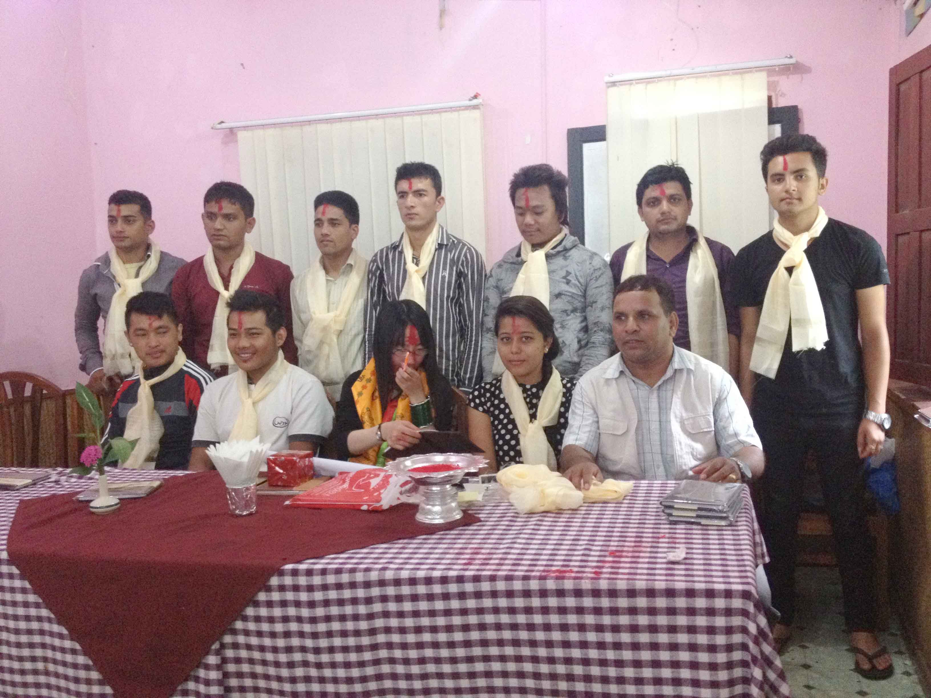SRaj best language institute in pokhara